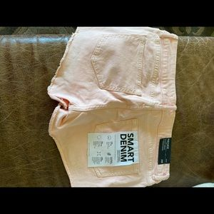 DL1961 Shorts - DL 1961 shorts light coral size 28 NWT